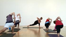 Only have a half hour but want that feeling of a hot and wonderful flow? This one is for you! 20 minutes of non-stop flow and core work with a sweet hip opening cool down.
