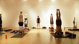 This class begins with a supported restorative pose (supta baddha konasana), progresses through timed forward bends and twists, to culminate in inversions (headstand and shoulderstand).  Great for a calming practice to balance strong practices on other days, or anytime you want to stretch deeply and ground and nourish yourself with the rejuvenative power of these poses.  Props: 3 blankets (or bolster and 1 blanket), 2 blocks, strap.