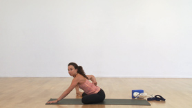 This practice is meant for those with chronic but still functional lower back pain to help improve and prevent future issues. It is a simple vinyasa flow that targets key areas to help balance the musculature of the lower back.