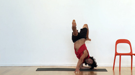 Pincha Mayurasana Variation Tutorial