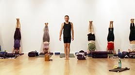 Inversions and Pranayama