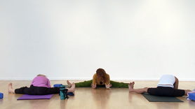 Is slouch-asana your most common posture? Decompress, lengthen and grow taller with this practice that begins with the low back and hips and moves up to releasing tension in the neck and shoulders before settling down into the welcome mat of savasana. 