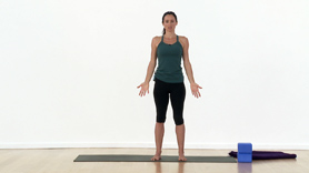 This video starts with some foundational postures that you will most  